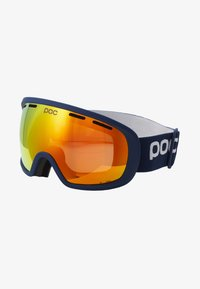 POC - FOVEA CLARITY - Masque de ski - lead blue/spektris orange - 4