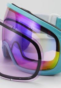 POC - FOVEA CLARITY COMP - Masque de ski - tin blue/spektris pink - 4