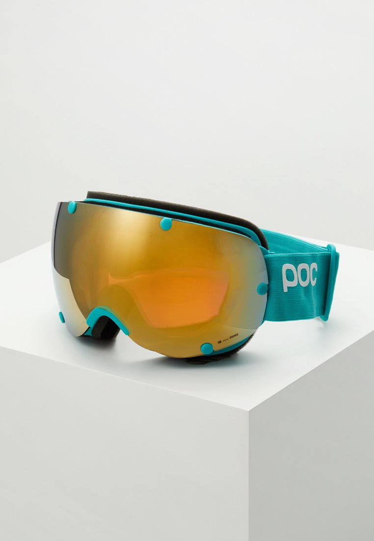 POC - LOBES CLARITY - Skibriller - tin blue/spektris gold