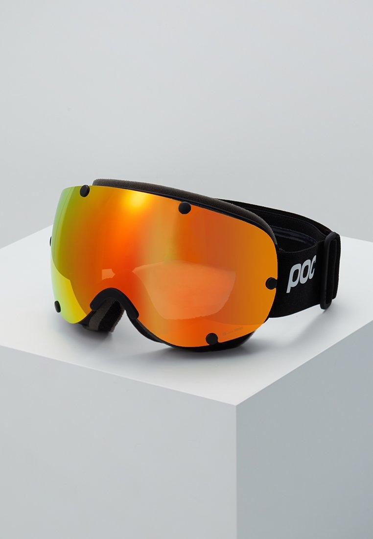 POC - LOBES CLARITY - Gafas de esquí - uranium black/spektris orange