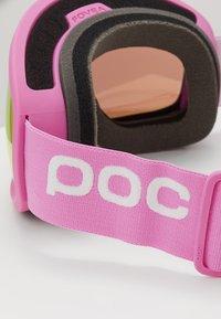POC - FOVEA MID CLARITY - Masque de ski - actinium pink/spektris orange - 2