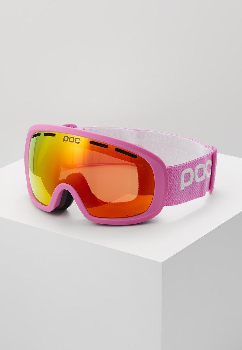 POC - FOVEA MID CLARITY - Masque de ski - actinium pink/spektris orange