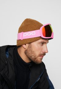 POC - FOVEA MID CLARITY - Masque de ski - actinium pink/spektris orange - 1