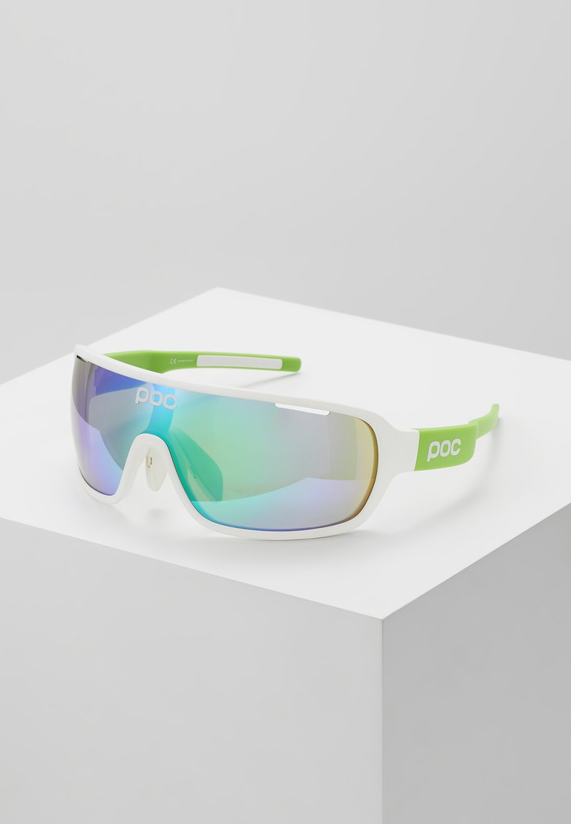 POC - DO BLADE - Sportbrille - hydrogen white/cannon green