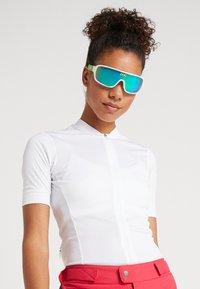POC - DO BLADE - Sportbrille - hydrogen white/cannon green - 4