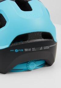 POC - AXION SPIN - Helm - uranium black/kalkopyrit blue matt - 2