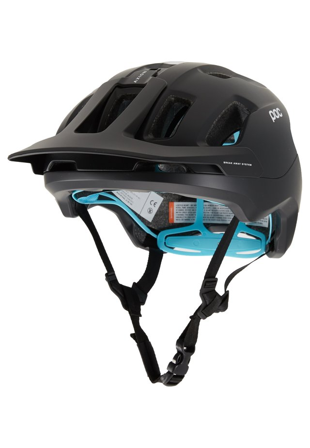 AXION SPIN - Casco - uranium black/kalkopyrit blue matt
