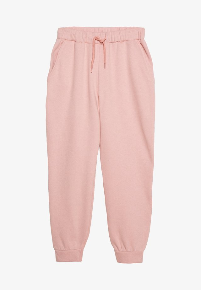 DRAWSTRING - Tracksuit bottoms - pink