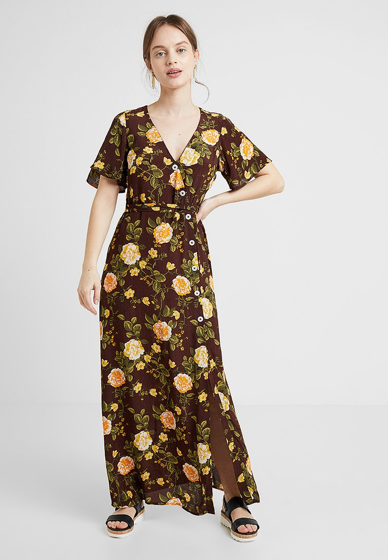 Miss Selfridge Petite - IRIS DRESS - Maxikjoler - brown