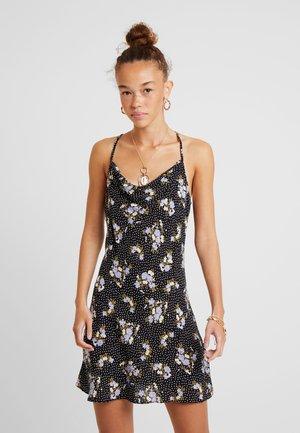 FLORAL SLIP DRESS - Denní šaty - multi