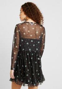 Miss Selfridge Petite - PRINTED FRILL DRESS - Day dress - multi - 3