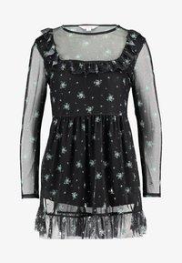 Miss Selfridge Petite - PRINTED FRILL DRESS - Day dress - multi - 4