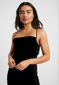 Miss Selfridge Petite - SLIP DRESS - Day dress - black - 4