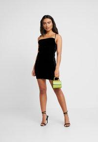 Miss Selfridge Petite - SLIP DRESS - Day dress - black - 2