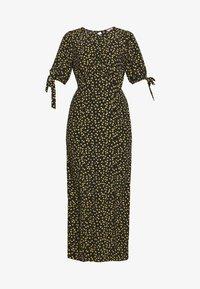Miss Selfridge Petite - PRINT MIDAXIDRESS - Maxi šaty - black - 3