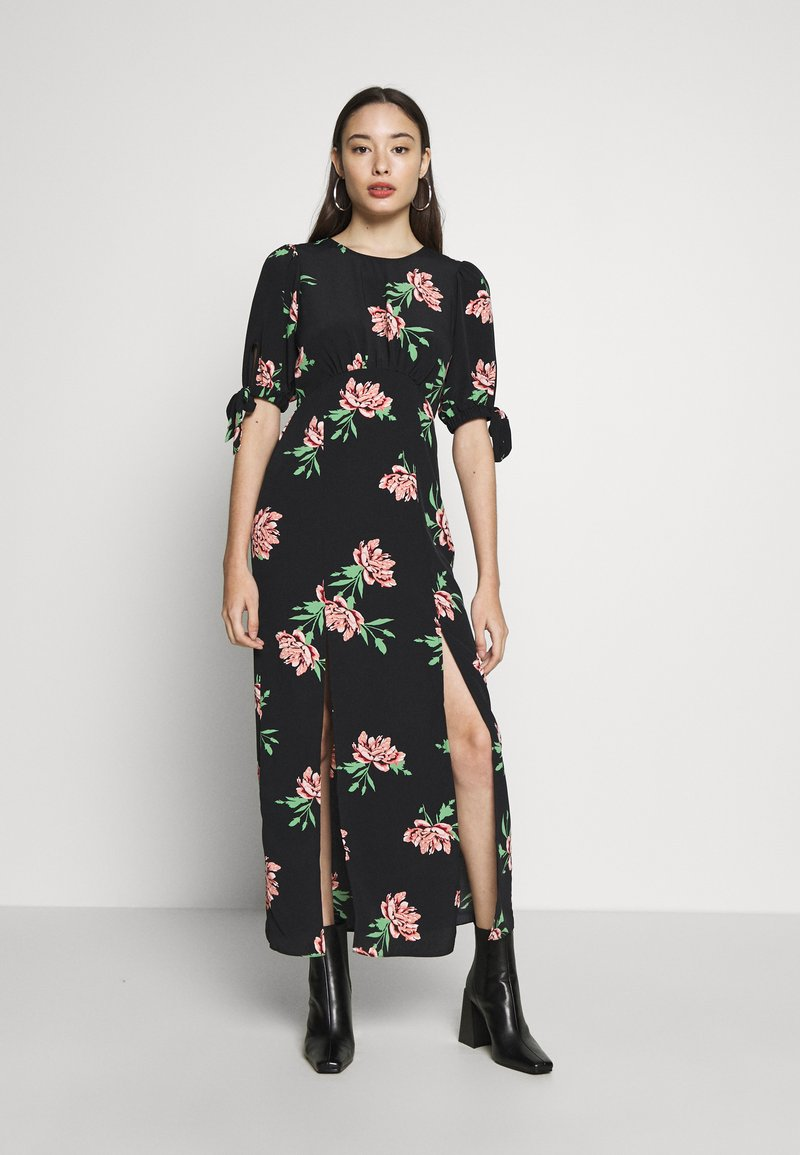 Miss Selfridge Petite - SPACED FLORAL MAXI - Day dress - multi