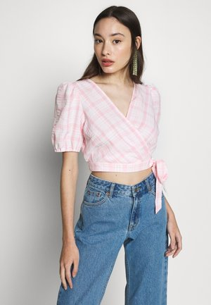PUFF SLEEVE - Blouse - pink