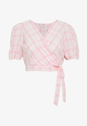 PUFF SLEEVE - Bluse - pink