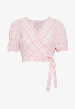 PUFF SLEEVE - Blusa - pink