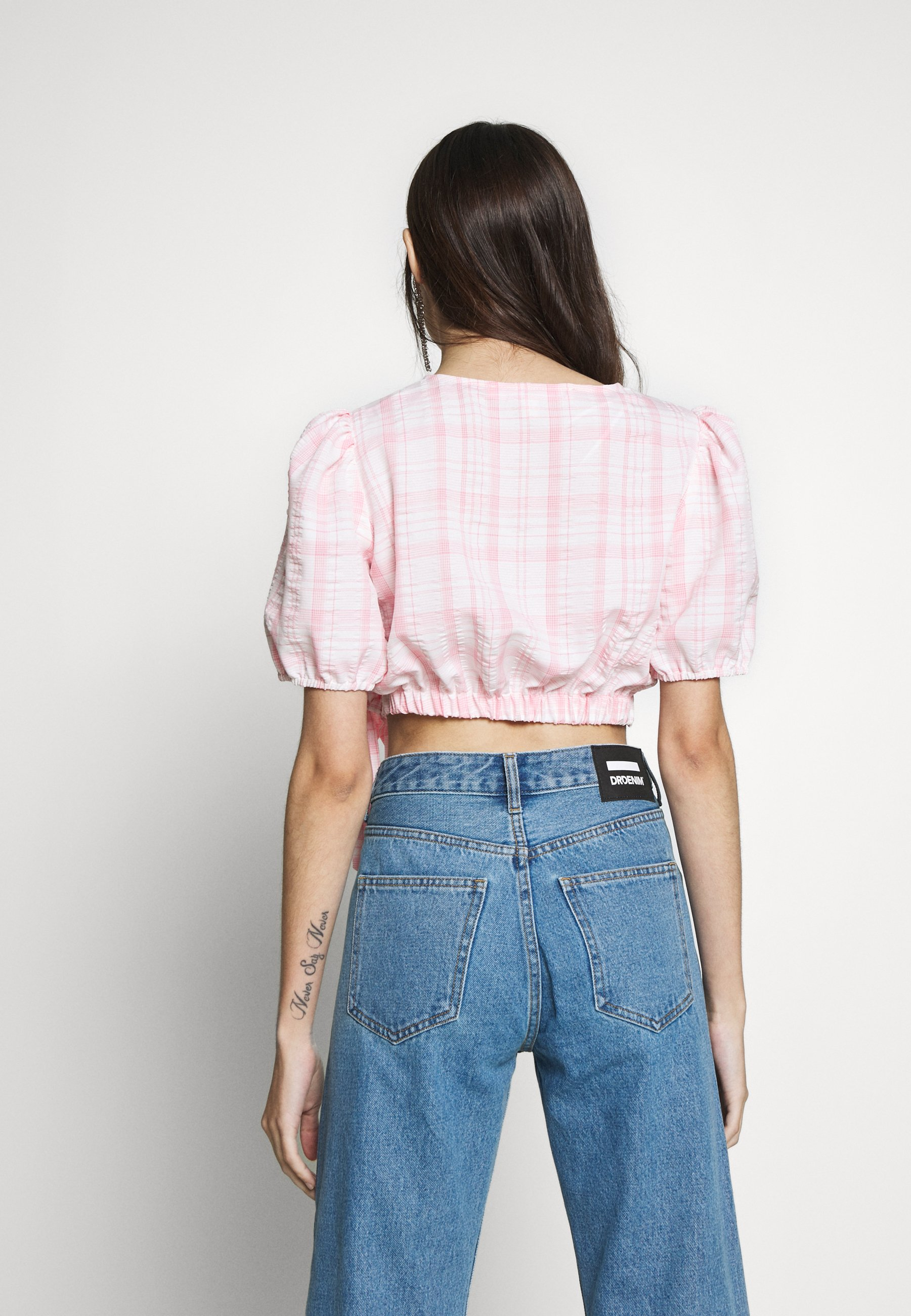 Miss Selfridge Petite PUFF SLEEVE - Bluser - pink