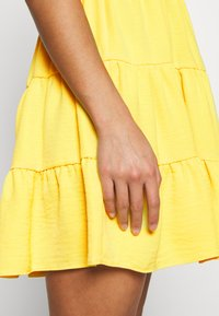 Miss Selfridge Petite - TIERRED DRESS - Shirt dress - yellow - 7
