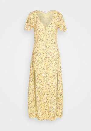 LUCY BUTTON DOWN MAXI DRESS - Maxikjoler - yellow