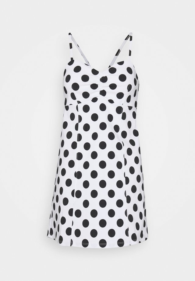 SPOT BENGA DRESS - Day dress - white