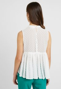 Miss Selfridge Petite - VICTORIANA SLEEVELESS - Blouse - cream
