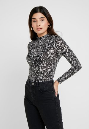 FRILL PRINTED - Long sleeved top - multi