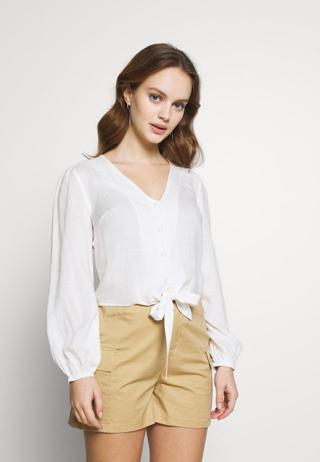 BLOUSE - Bluser - ivory