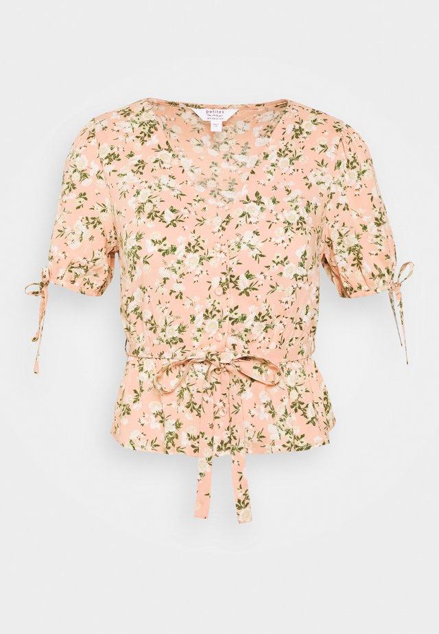 LUCY PRINT PEPLUM  - Blus - pink