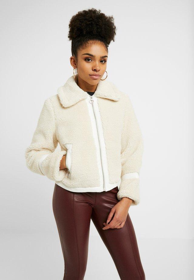 JACKET - Winter jacket - ivory