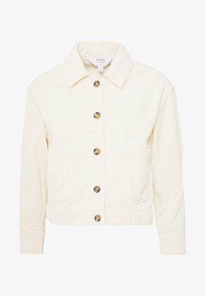 JUMBO JACKET - Summer jacket - ecru