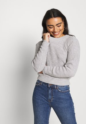JUMPER - Pullover - grey