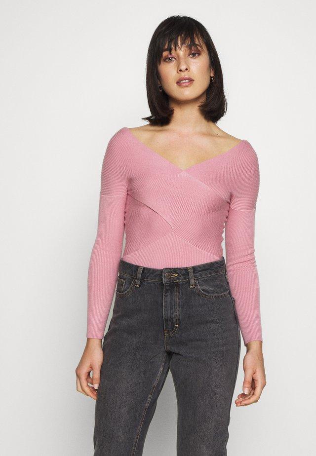 FINE JUMPER - Strickpullover - pink