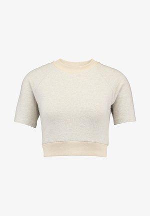 BRUSHED FABRIC - T-shirt basique - oatmeal