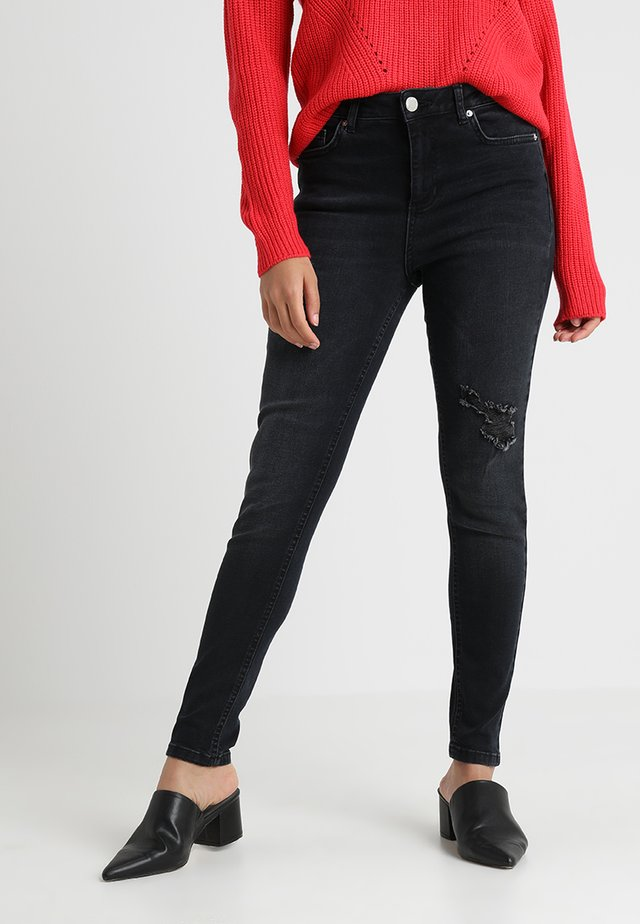 LIZZIE POOLE - Jeans Skinny Fit - blue black