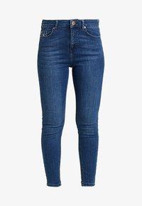 Miss Selfridge Petite - SPACE LIZZIE - Jeans Skinny Fit - blue - 3
