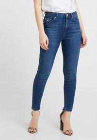 Miss Selfridge Petite - SPACE LIZZIE - Jeans Skinny Fit - blue - 0
