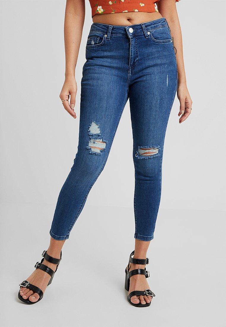 Miss Selfridge Petite - LIZZIE SKY - Jeans Skinny Fit - blue