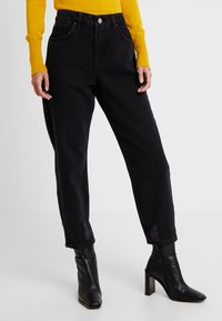 Miss Selfridge Petite - Jeans Relaxed Fit - black - 0