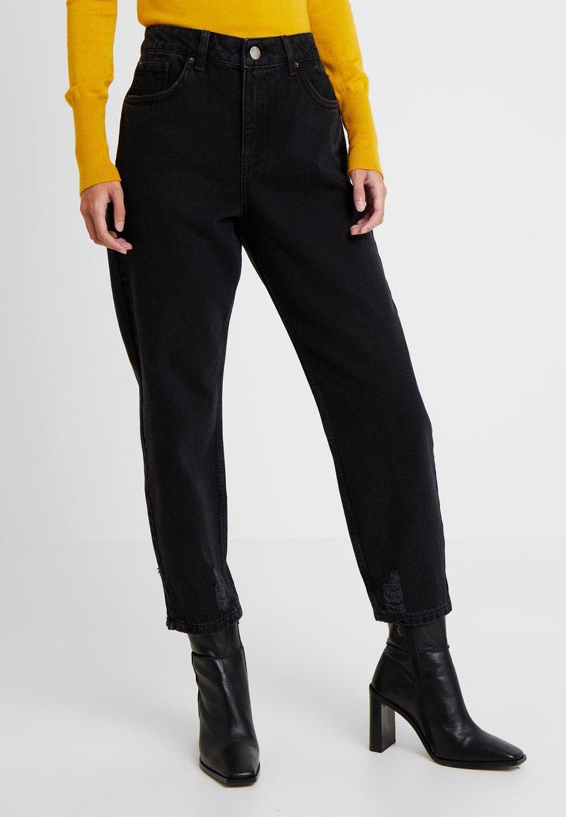 Miss Selfridge Petite - Jeans Relaxed Fit - black