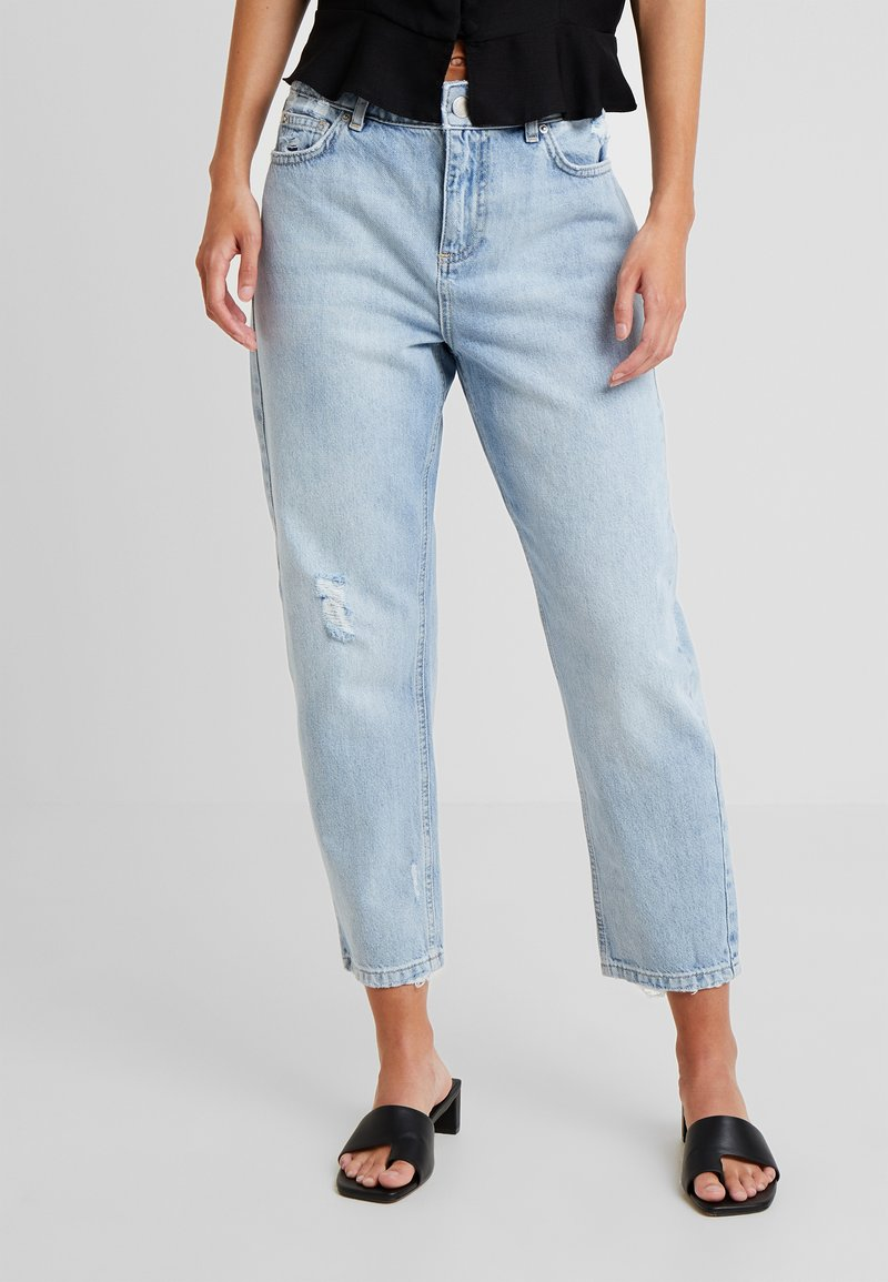 Miss Selfridge Petite - VINTAGE HIGH RISE - Relaxed fit jeans - blue