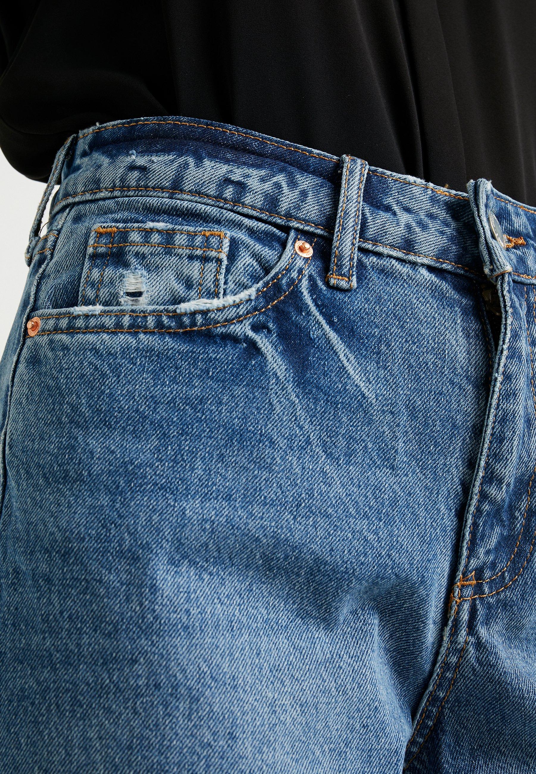 Miss Selfridge Petite MOM - Jeans a sigaretta blue