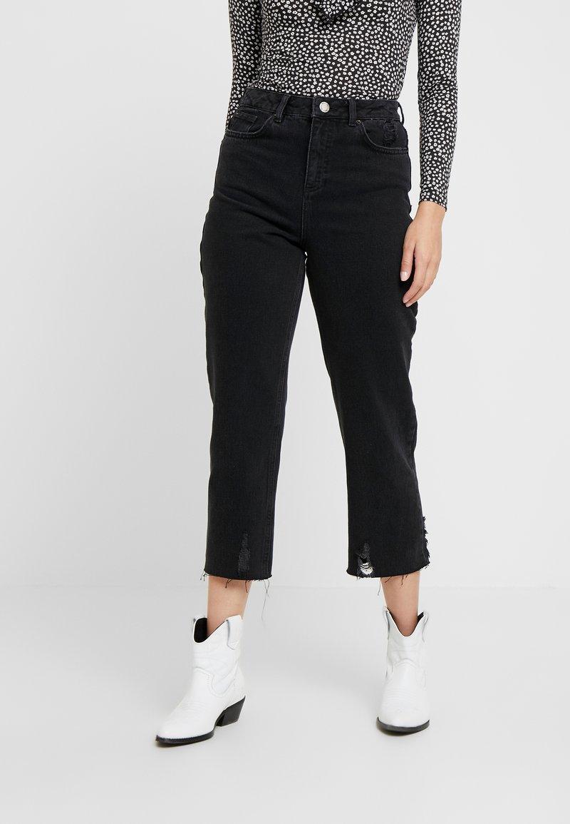 Miss Selfridge Petite - Jeans Straight Leg - black