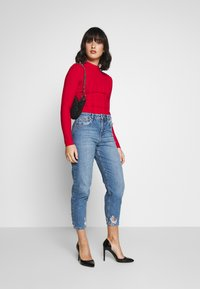 Miss Selfridge Petite - ARLO - Vaqueros pitillo - blue - 1