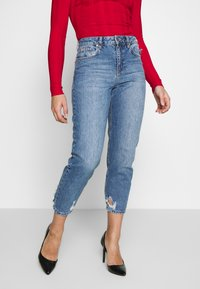 Miss Selfridge Petite - ARLO - Vaqueros pitillo - blue - 0