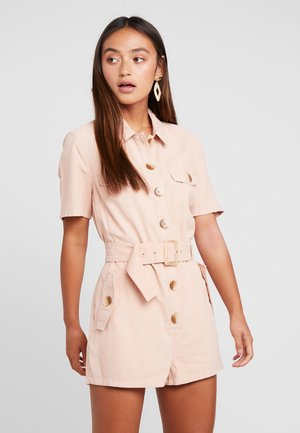 PLAIN ROMPER PLAYSUIT - Tuta jumpsuit - apricot