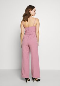 Miss Selfridge Petite - STRUCTURED BELTED - Overal - pink - 2
