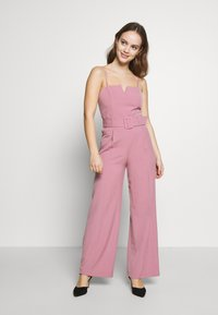 Miss Selfridge Petite - STRUCTURED BELTED - Overal - pink - 1